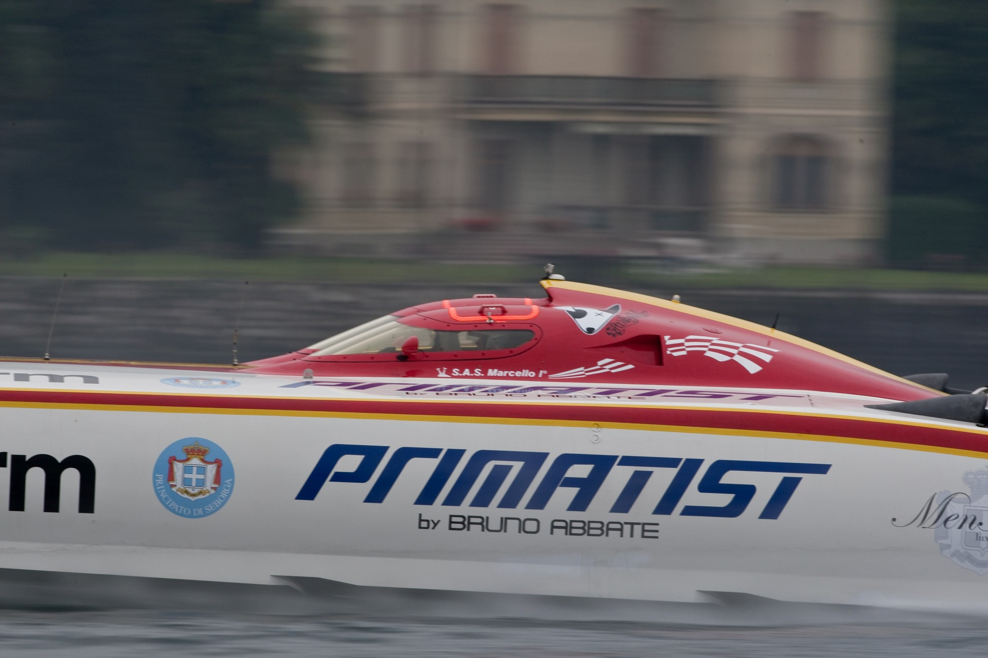 Stresa - 01/10/2010 Class-1 World Powerboats Championship 2010 Stresa Round 4 Photo Simon Palfrader©