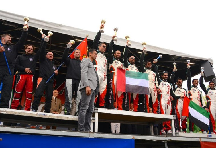 Abu Dhabi Team won The 24 Hours of Rouen