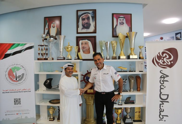Guido Cappellini confermato Team Manager  dell'Abu Dhabi Powerboat Team
