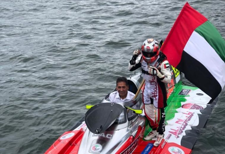 UIM F. 2 : Rashed Al Qemzi  (Abu Dhabi Team) is World Champion 2019!