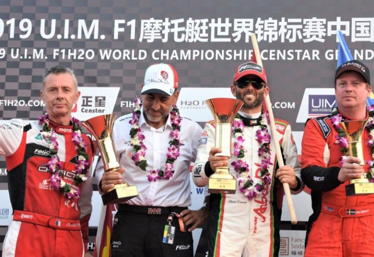 Weekend intenso in Cina: Shaun Torrente (Abu Dhabi Team)  vince il Gp e torna leader del Mondiale F. 1