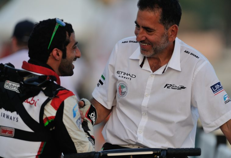 UIM F.2:  Rashed Al Qemzi (Abu Dhabi Team) won the home GP too!